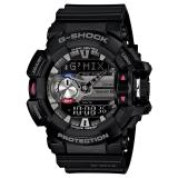 卡西欧(CASIO)手表 G-SHOCK 主题系列 音乐蓝牙智能防震防水运动手表 超强LED照明石英表 GBA-400-1A