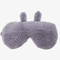 伊暖儿(e·warmer)锂电续电贵妃绒超薄调温定时型 蒸汽热敷眼罩 USB充电加热护眼 帮助睡眠 防水易清理 灰兔