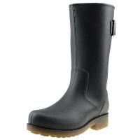 海天客(Halteke) 雨鞋男士时尚高筒雨靴胶鞋防水鞋 NS002 黑色 39码