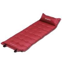 康尔KingCamp自动充气垫 加宽多点式户外露营垫子 防潮垫 可拼接KM3560酒红