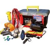 優馳(yooch)應急救援 18合一車用工具套裝(帶打氣泵 胎壓計 安全錘 拖車繩 電瓶線等)