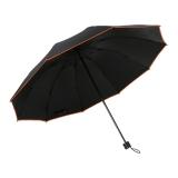爱丽嘉(IDREAMY)夜行者雨伞男士折叠双人防风伞10骨大1.1米户外 红色 99452