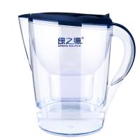 绿之源摩登经典净水壶3.5L 净水器家用过滤器滤水壶净水杯