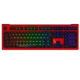 AKKO Ducky Shine6 EDG战队竞赛限量版 Cherry 红色 红轴 RGB机械键盘