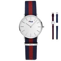 斐乐(FILA)手表 休闲防水时尚运动情侣表石英女士手表FLL38-778-103