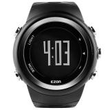 EZON宜准跑步表计步器电子表多功能运动手表男士表电子表户外手表T023B01