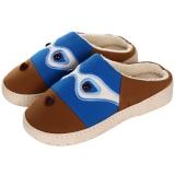 集暖棉拖鞋 男居家地板拖深蓝色40-41码(适合38-39码)A00002