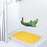 德国瑞德 RIDDER 长方形 浴室防滑垫 环保橡胶材质 38×72cm 黄色 66084