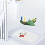 德国瑞德 RIDDER 防滑垫/浴室脚垫 洗澡沐浴按摩防滑垫 /罂粟花系列 38*72cm/62010