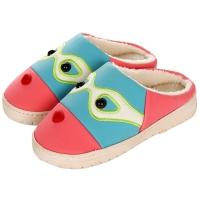 集暖棉拖鞋女居家地板拖湖蓝色36-37码(适合35-36码)A00002