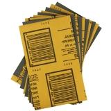 3M 砂纸 401Q研磨砂纸 水磨砂纸 汽车漆面砂纸 1500(10张)也可打磨手串 木制家具