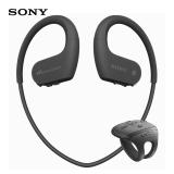 索尼(SONY) NW-WS625 蓝牙运动耳机 可穿戴式防水音乐播放器(黑色)