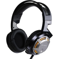 硕美科(SOMIC)G926 电竞游戏耳机 电脑头戴式耳麦 降噪自识别驱动 Hifi级音质 黑色