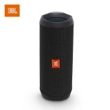 JBL Flip4 音乐万花筒4 蓝牙小音箱 音响 低音炮 防水设计 支持多台串联 便携迷你音响 音箱 炫酷黑
