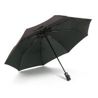 爱丽嘉(IDREAMY)全自动雨伞 男士商务折叠伞自开自收自动雨伞   绿色  92451