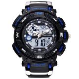 迪士尼(Disney)手表 中學生手表男孩戶外運動表兒童手表防水夜光電子表55041L