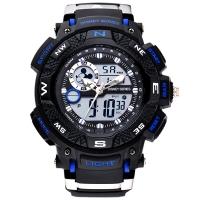 迪士尼(Disney)手表 中学生手表男孩户外运动表儿童手表防水夜光电子表55041L