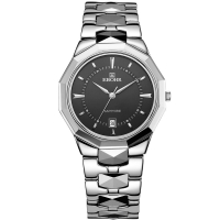 依波(EBOHR)手表 钨钢系列石英情侣表男表05598236