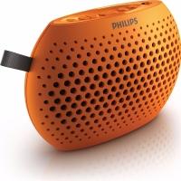 飞利浦(PHILIPS) SBM100 ORG 插卡音箱 口袋迷你便携小音响 音乐MP3外响播放器 FM收音机老人听戏 橙色