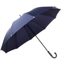 天堂傘 加大加固負離子遠紅外強力拒水一甩干鋼桿鋼骨自開直桿商務晴雨傘 深藏青 1331E