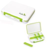 护立康 Fullicon便携药盒8格保健防潮 多用途收纳盒 DP003