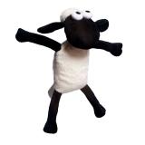 費許(FASHY)0.8升PVC材質6634小羊肖恩卡通外套熱水袋