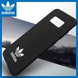 adidas (阿迪达斯)三星S8 edge S8+手机壳 原装正品 三叶草时尚经典款 PU磨砂防滑硅胶防摔软壳保护套