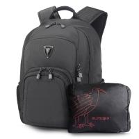 森泰斯 SUMDEX 15.6英寸+iPad防雨套双肩电脑男背包PON-394BK黑