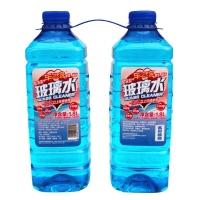 车之吻 汽车防冻型玻璃水-25度 汽车玻璃清洗剂1.8升*2瓶装