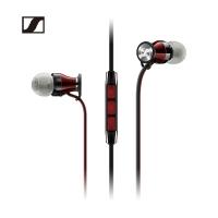 森海塞尔(Sennheiser)MOMENTUM In-Ear I Black 馒头入耳式耳机 手机耳机 黑色 苹果版