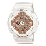 卡西欧(CASIO)手表 BABY-G 女士防震防水双显运动手表石英表 BA-110-7A1