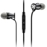森海塞尔(Sennheiser)MOMENTUM In-Ear G Black Chrome 馒头入耳式耳机 手机耳机 黑铬色 安卓版