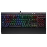 美商海盗船(USCorsair)Gaming系列 K70 LUX RGB 幻彩背光机械游戏键盘 黑色 红轴 绝地求生吃鸡键盘