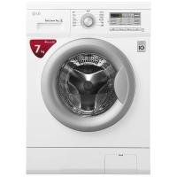 LG 7公斤直驱DD变频滚筒洗衣机 44CM超薄 智能手洗模式 高温洗涤  白色 WD-HH2431D