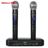 新科(Shinco) S2300 无线麦克风 无线手持话筒 双手麦 KTV 舞台