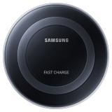 三星(SAMSUNG)无线充电器 环形快速无线充电器(需搭配三星快充充电器 USB2.0款) 黑色 快充适用Note8/S8/S7 edge/S6 edge+ 通用Iphone8/Iphone X
