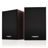 飛利浦(PHILIPS)SPA20 桌面音箱 木質 電腦音箱 音響