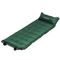 康尔 KingCamp 自动充气垫 加宽多点式户外露营垫子 防潮垫 可拼接KM3560墨绿