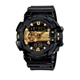 卡西欧(CASIO)手表 G-SHOCK 主题系列 音乐蓝牙智能防震防水运动手表 超强LED照明石英表 GBA-400-1A9
