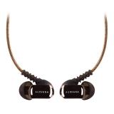 创新(Creative)in ear3 plus耳机 入耳式HiFi音乐耳机 线控麦克降噪耳塞L型4段镀金插头
