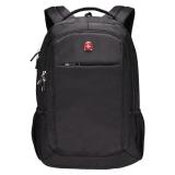 瑞士军刀威戈Wenger双肩包商务笔记本电脑包14.4英寸 时尚休闲双肩背包男女书包防泼水 黑色SGB10516109044