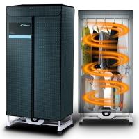 德尔玛(Deerma)干衣机 干衣容量10公斤 烘干功率850瓦 铝管双层机械式按钮180分钟定时功能 DEM-R10