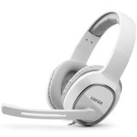 漫步者(EDIFIER)K815 高音质立体声通讯游戏耳麦 电脑耳机 游戏耳机 绝地求生耳机 吃鸡耳机 白色