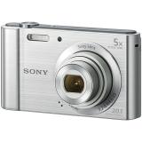 索尼(SONY) DSC-W800 数码相机 银色(2010万像素 5倍光学变焦 2.7英寸屏 26mm广角) LBI–CNP3/W 原装包套装