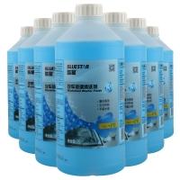 藍星(BLUESTAR)玻璃水擋風玻璃清洗劑 -2°C 2L 8瓶套裝