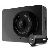 小蟻(YI)行車記錄儀1080P高清夜視動力版 小米生態鏈公司 130°廣角(夜空黑)