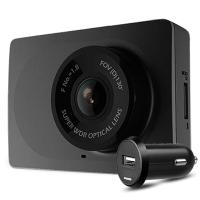 小蚁(YI)行车记录仪1080P高清夜视动力版 小米生态链公司 130°广角(夜空黑)