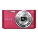 索尼(SONY) DSC-W830 数码相机 粉色(2010万有效像素 8倍光学变焦 25mm广角 全景扫描)