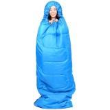 康尔KingCamp睡袋 户外成人棉睡袋 加厚春秋露营 可拼接双人-3℃ KS3121蓝色左