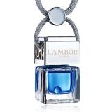 蘭博(LAMBOR)汽車香水 汽車掛件車載香水 水立方 海風香型 藍色